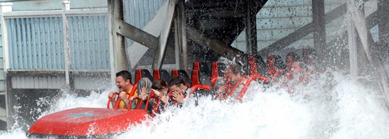 Best water rides - Drenched