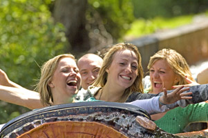 Best water rides - Logger's Leap