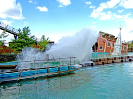 Best water rides - Tidal Wave