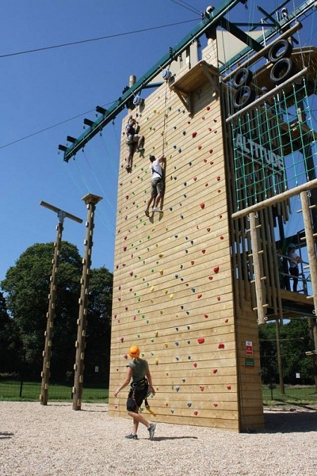 Altitude High Ropes Adventure at Littledown Park