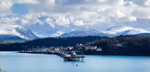Bangor Pier - © Crown copyright (2013) Visit Wales