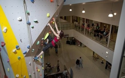 Basildon High Sports Climbing Wall