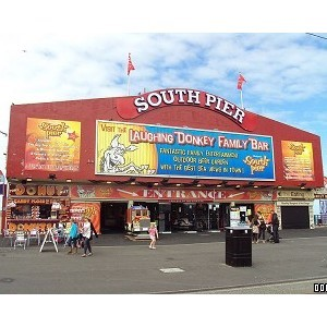 Blackpool's South Pier