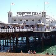Brighton Pier and Beach