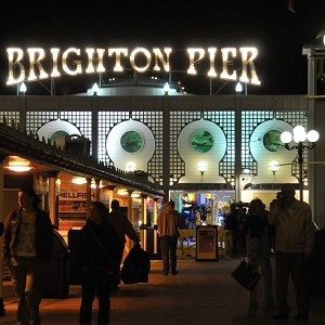 Brighton Pier and Beach