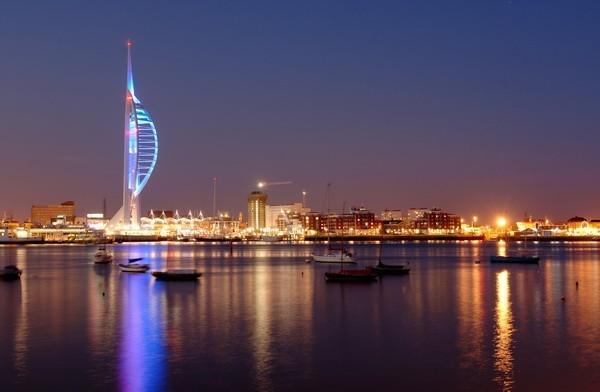 Emirates Spinnaker Tower Portsmouth Hampshire