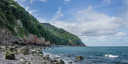 Exmoor National Park - Glenthorne Beach