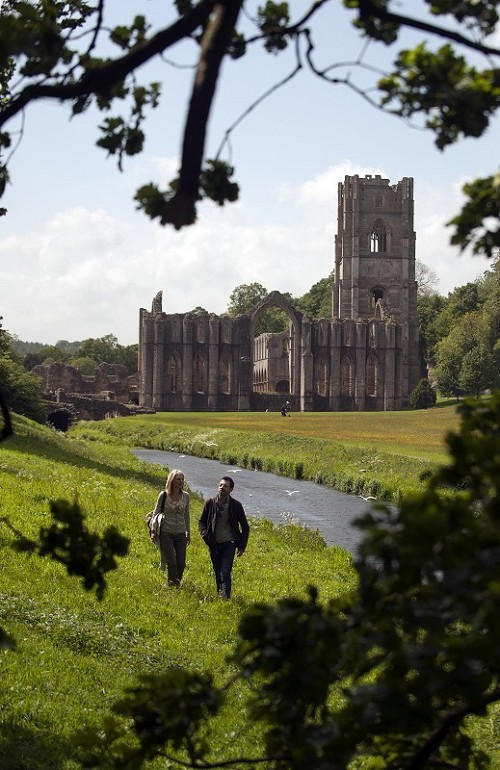 Fountains Abbey and Studley Royal Water Garden