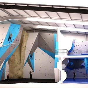High Sports Brighton Climbing Wall