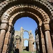 Lindisfarne Priory - © English Heritage Photo Library