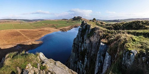 Northumberland National Park - Housesteads Roman Fort