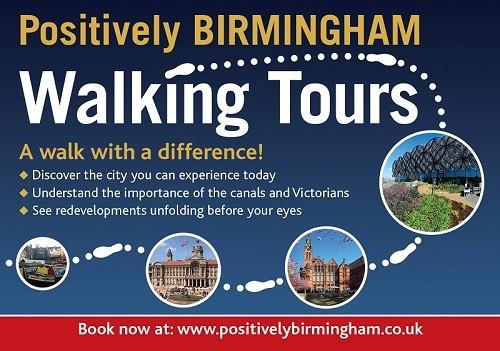 Positively Birmingham Walking Tours