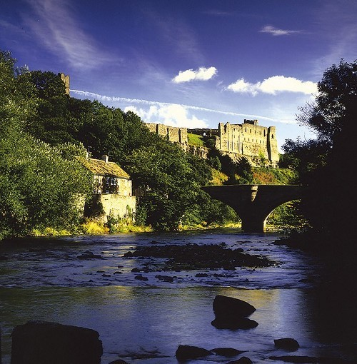 Richmond Castle - © English Heritage Photo Library