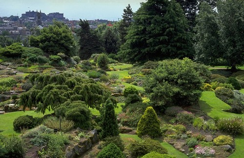 Royal Botanic Garden with Cityscape