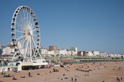The Brighton Wheel by day