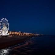 The Brighton Wheel by night