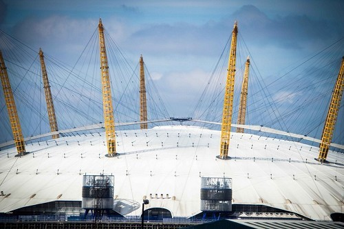 The O2 - © Jason Brown