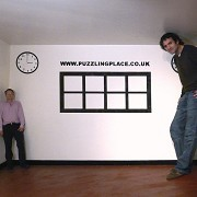 The Puzzling Place - BBC Presenter Michael Mosley with Andy Wallace