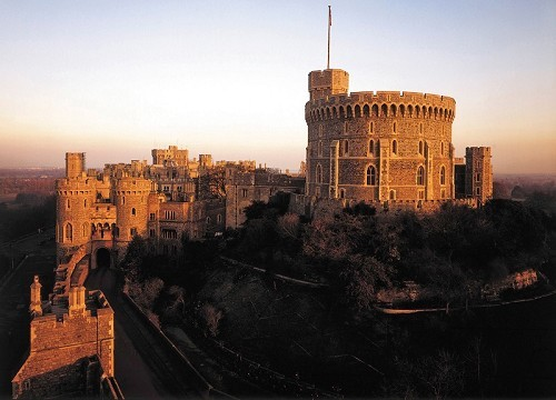 Windsor Castle - © Royal Collection Trust/Her Majesty Queen Elizabeth II 2013, Photograph by John Freeman