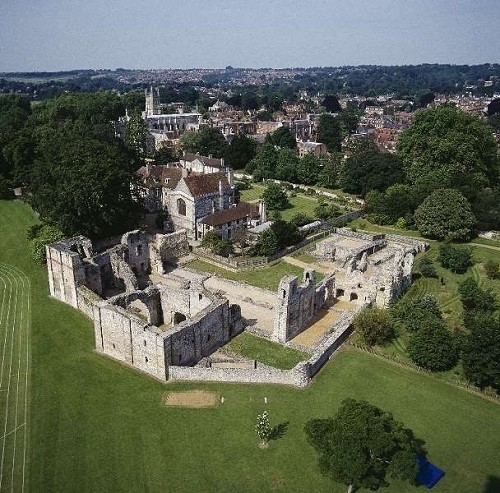 Wolvesey Castle © English Heritage