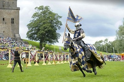 Spectacular Jousting Returns to Linlithgow Palace