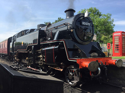 Visiting Loco helps celebrate Spa Valley Railway's 20th anniversary in Tunbridge Wells!
