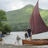 SWALLOWS AND AMAZONS JOIN THE RACE AT KING POCKY'S DERWENT WATER REGATTA