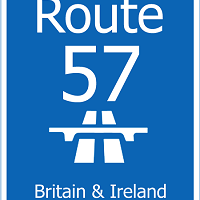 Driving Route 57 - The UK & Ireland's Route 66
