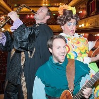 THE ROCK 'N' ROLL PANTO IS BACK IN TOWN!