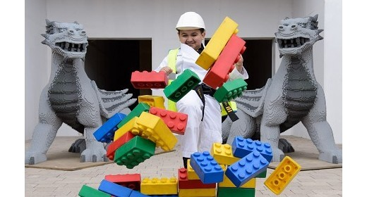 WORLD'S YOUNGEST BLACK BELT LENDS A HAND AT THE LEGOLAND® WINDSOR RESORT