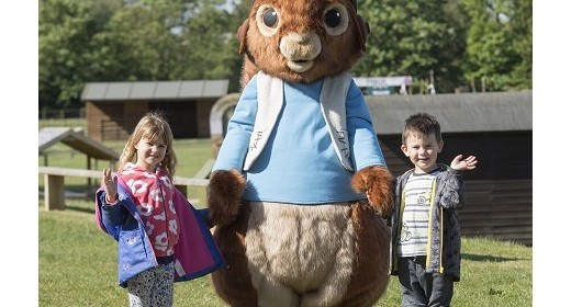 Squirrel Nutkin swings into action at Willows this May!