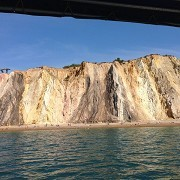 The cliffs at the Needles from the Needles Park b by Fuzzyfish1000