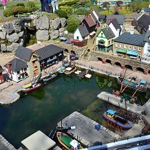 Bekonscot Model Village & Railway - Model harbour. by Londoner03