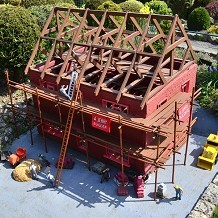 Bekonscot Model Village & Railway - Model building site. Superb ! by Londoner03