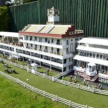 Bekonscot Model Village & Railway - Model race course. by Londoner03