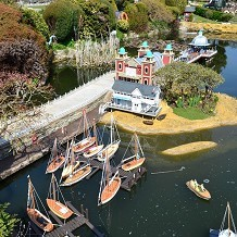 Bekonscot Model Village & Railway - Seaside pier & boats. Stunning ! by Londoner03