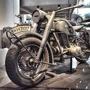 German motorcycle & sidecar. by Londoner03