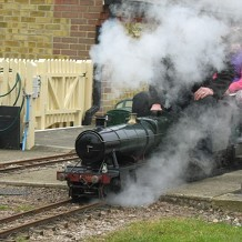Eastbourne Miniature Steam Railway -  by Pauline