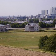 View across Greenwich Park from Royal Observatory by revermont1