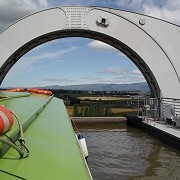 Falkirk Wheel by Stuart